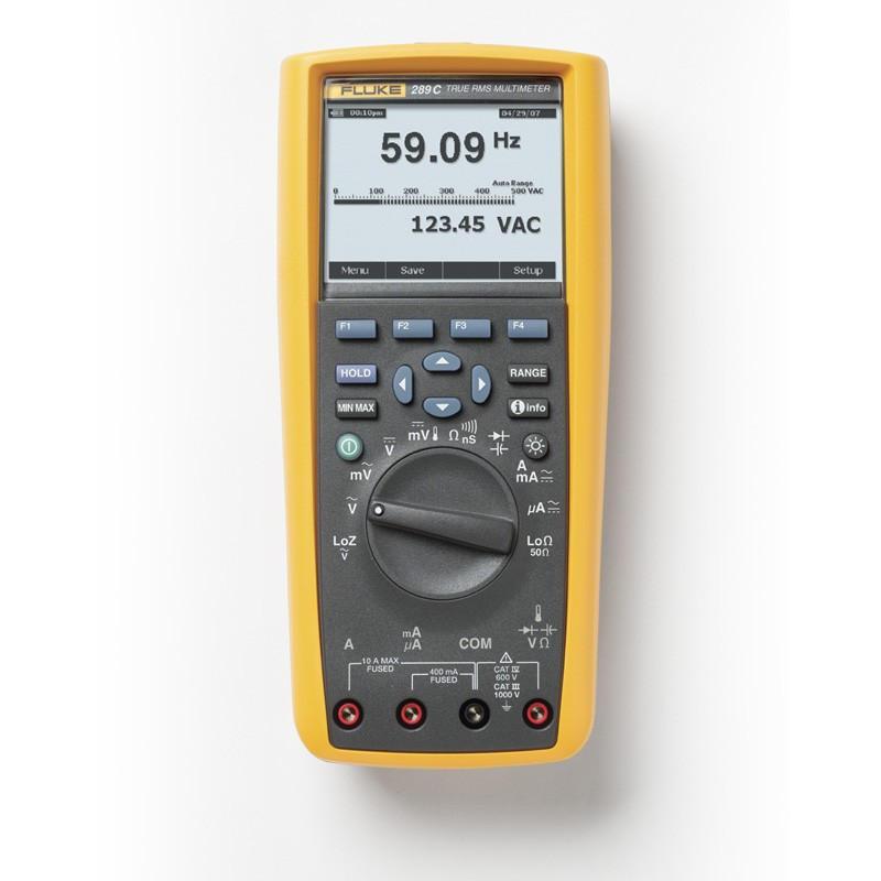 Fluke 289 - Registro de datos industriales