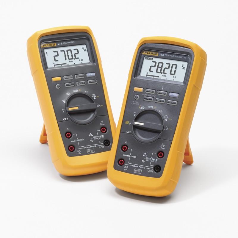 Fluke 28-II Multímetro IP67 para condiciones extremas