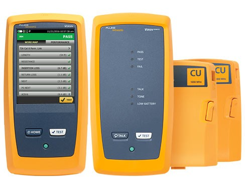 Certificadores de cables de cobre DSX2-5000 y DSX2-8000 CableAnalyzer™