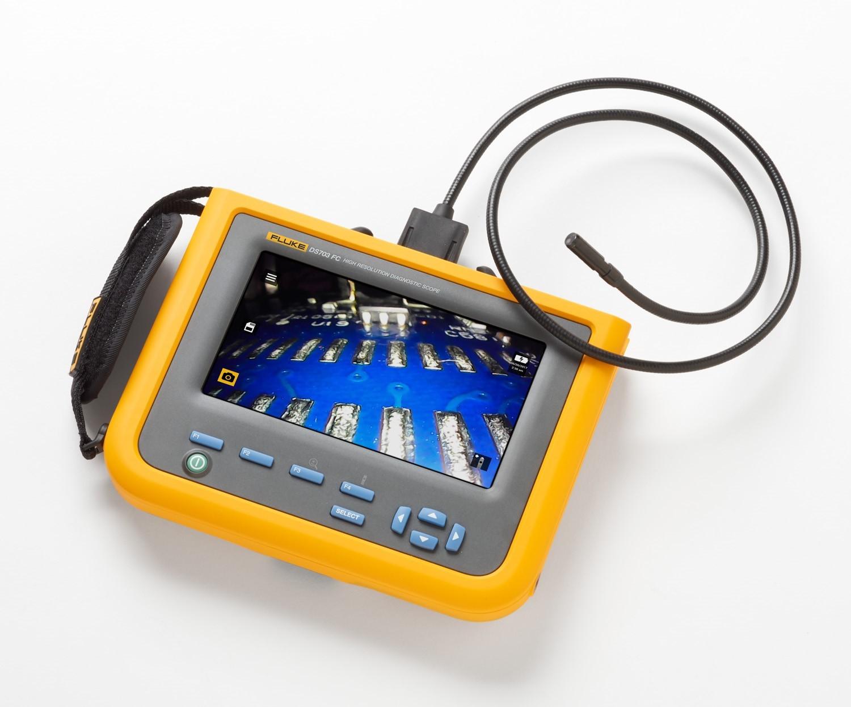 Videoscopio Fluke DS703 FC con Fluke Connect™
