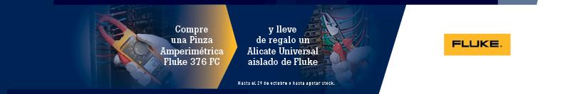 Compra una Pinza Amperimétrica Fluke 376 FC y lleva de regalo un Alicate universal aislado de Fluke