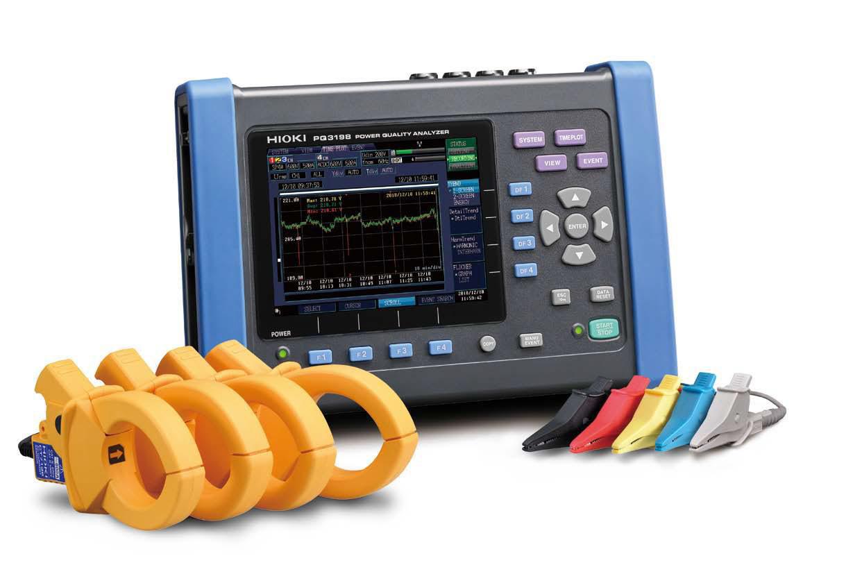 Analizador de calidad de energía Hioki PQ3198