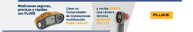 Promoción Fluke Comprobador de Instalaciones 1664 FC