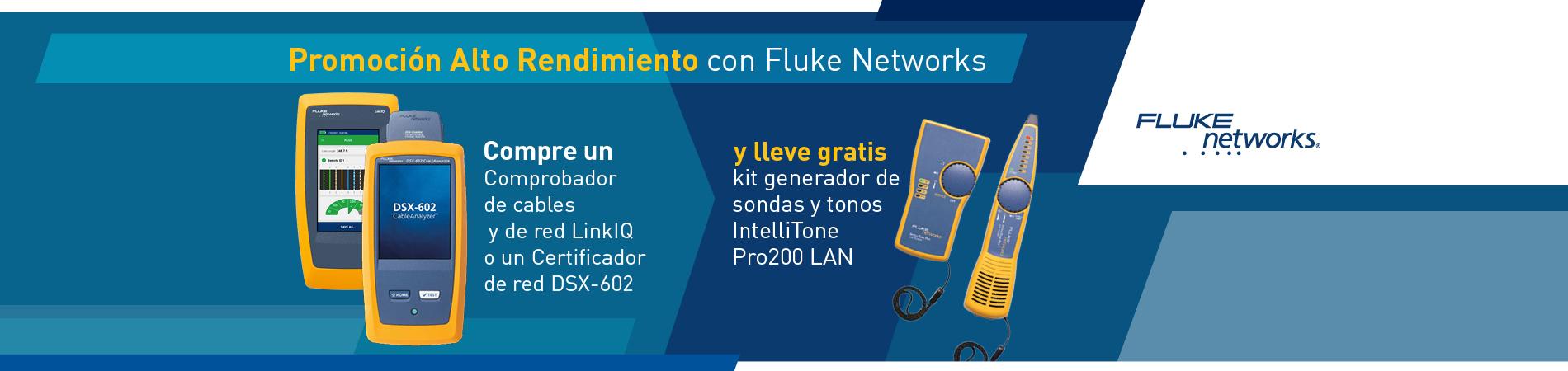 Comprobador de cables LinkIQ y Certificador de red DSX-602 en Promoción